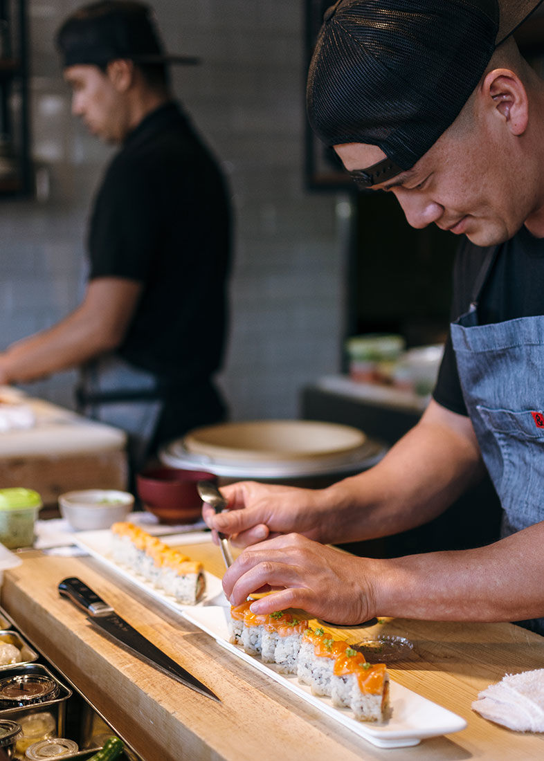 Sushi's Next Gen Is Here at Himitsu