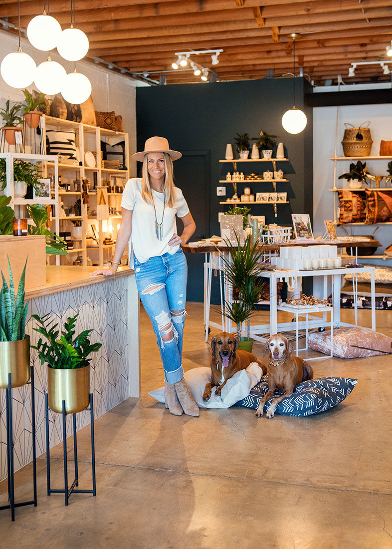 North Park's New Home Décor and Dog Garb Shop