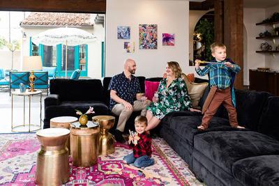 This Historic Kensington Home Has a Colorful Attitude