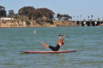 Get on Board with SUP Fitness