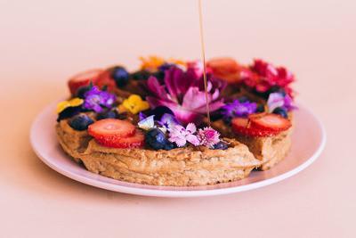 Sweet Spot: Holy Matcha's Waffle Bouquet