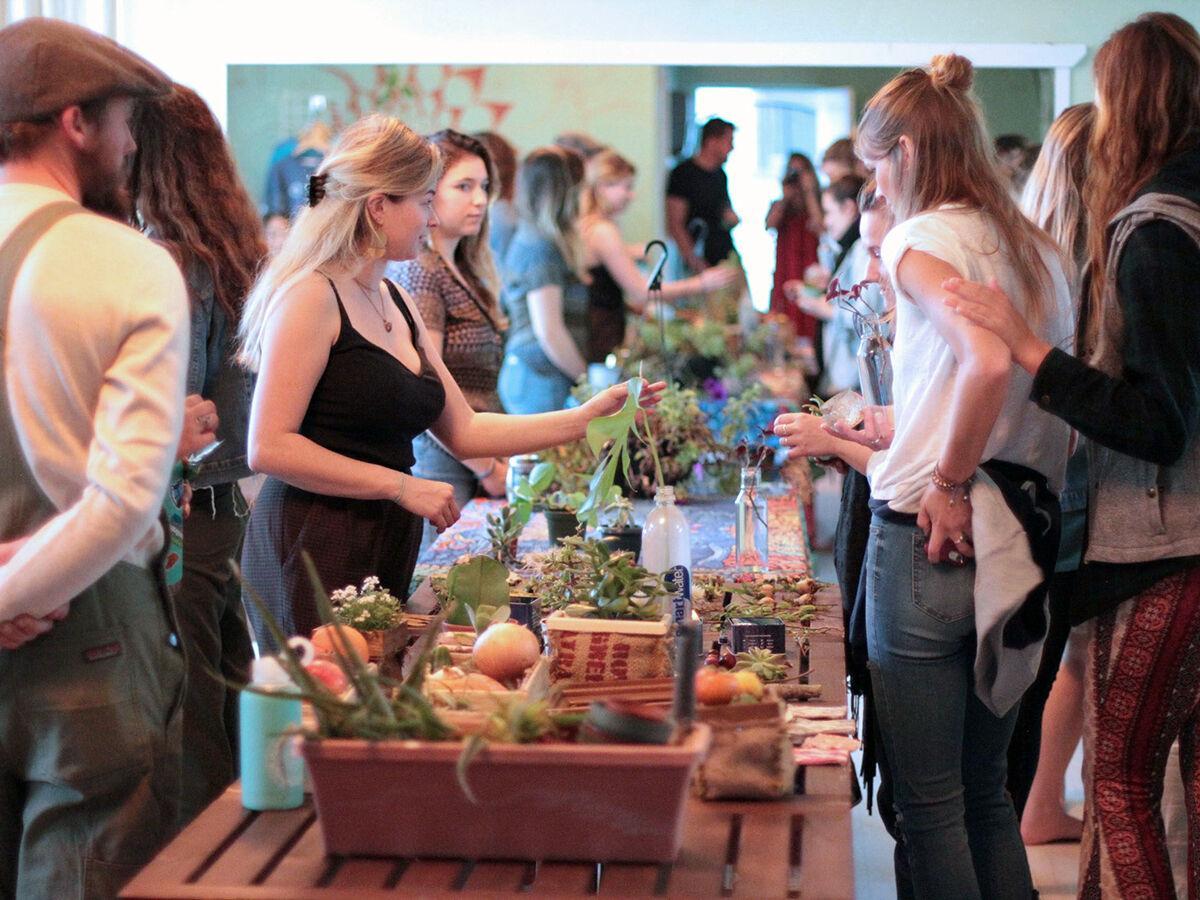 Blossm App / Plantswap Event