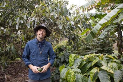 Jason Mraz and his Historic Coffee Bean