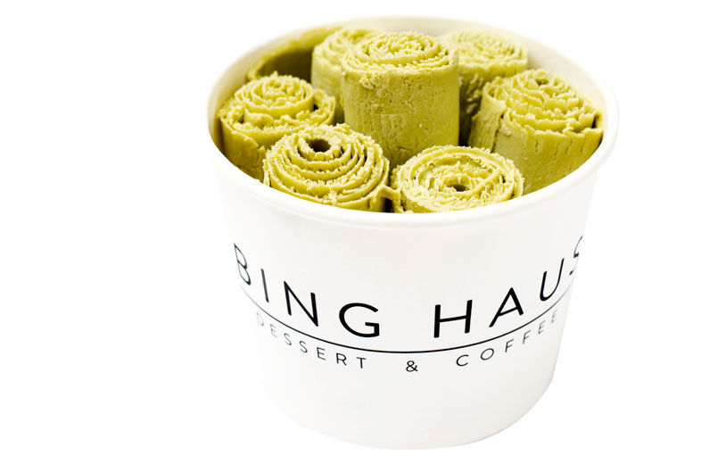 Step By Step: Rolled Ice Cream at Bing Haus
