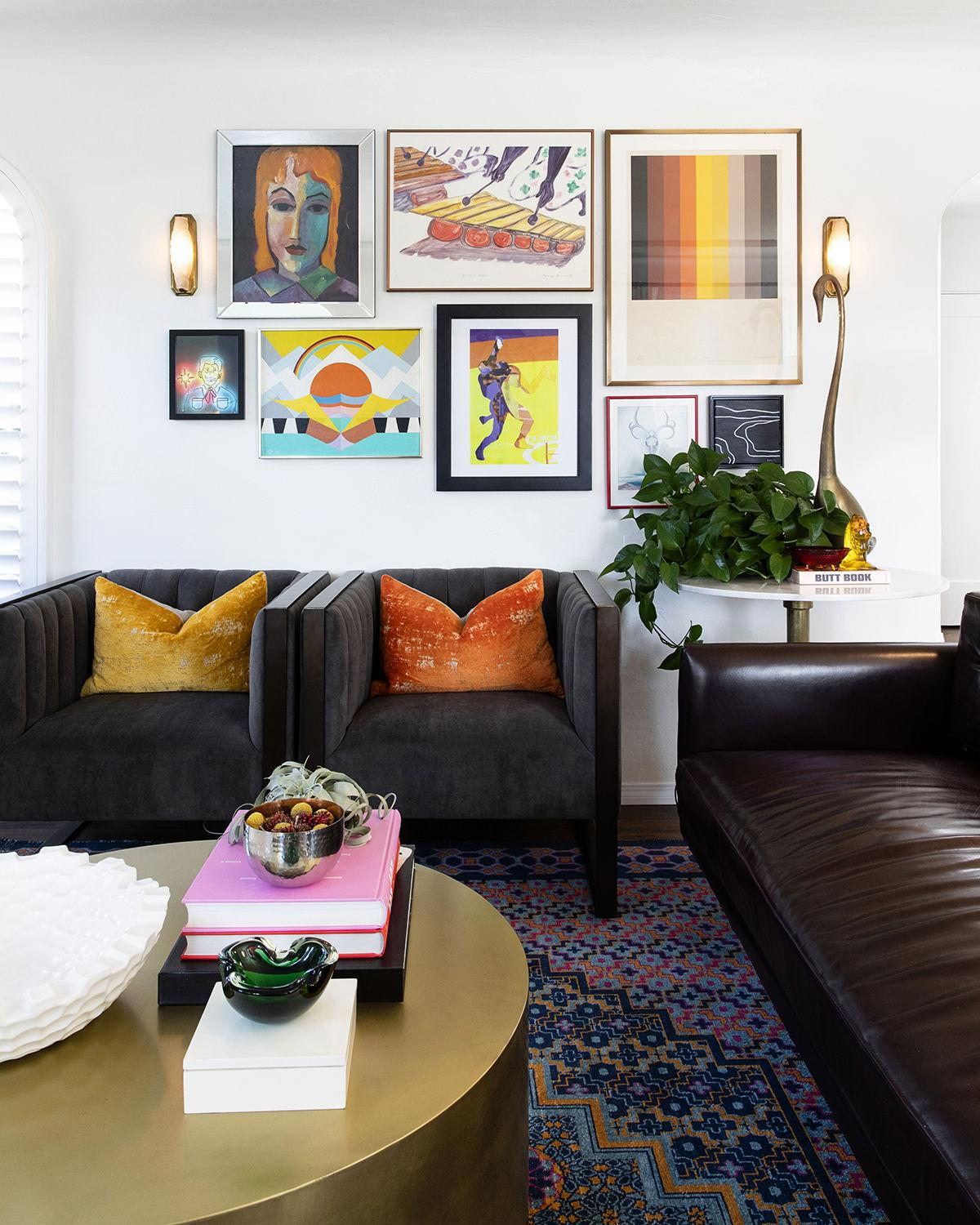 North Park Fun and Funk Home / Gallery Wall