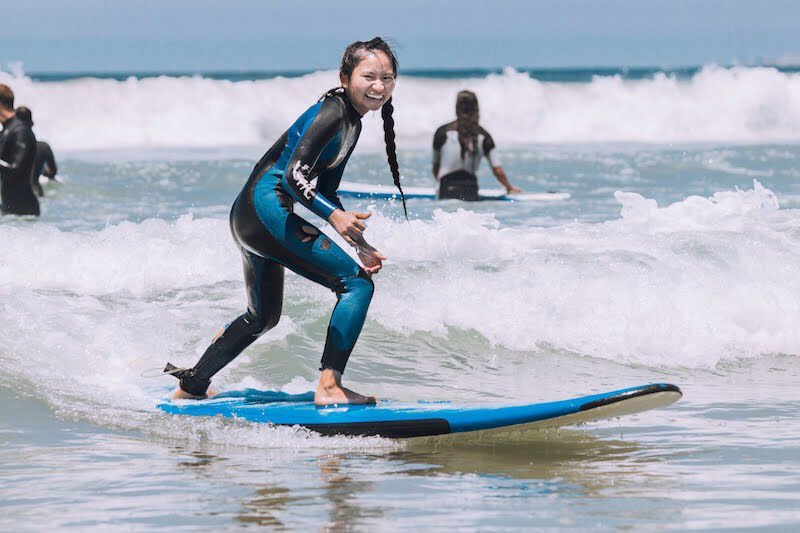 Outdoor Outreach - surfing