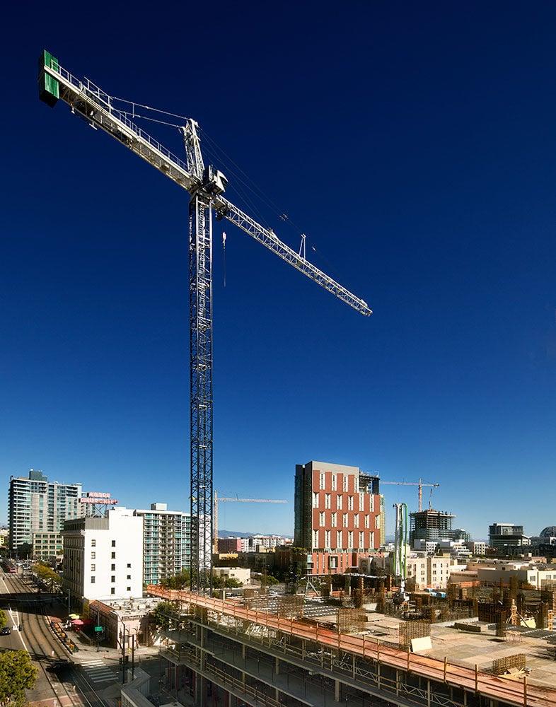 On the Job: The Crane Operator