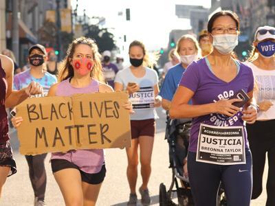 Run for Breonna / Black Lives Matter Sign