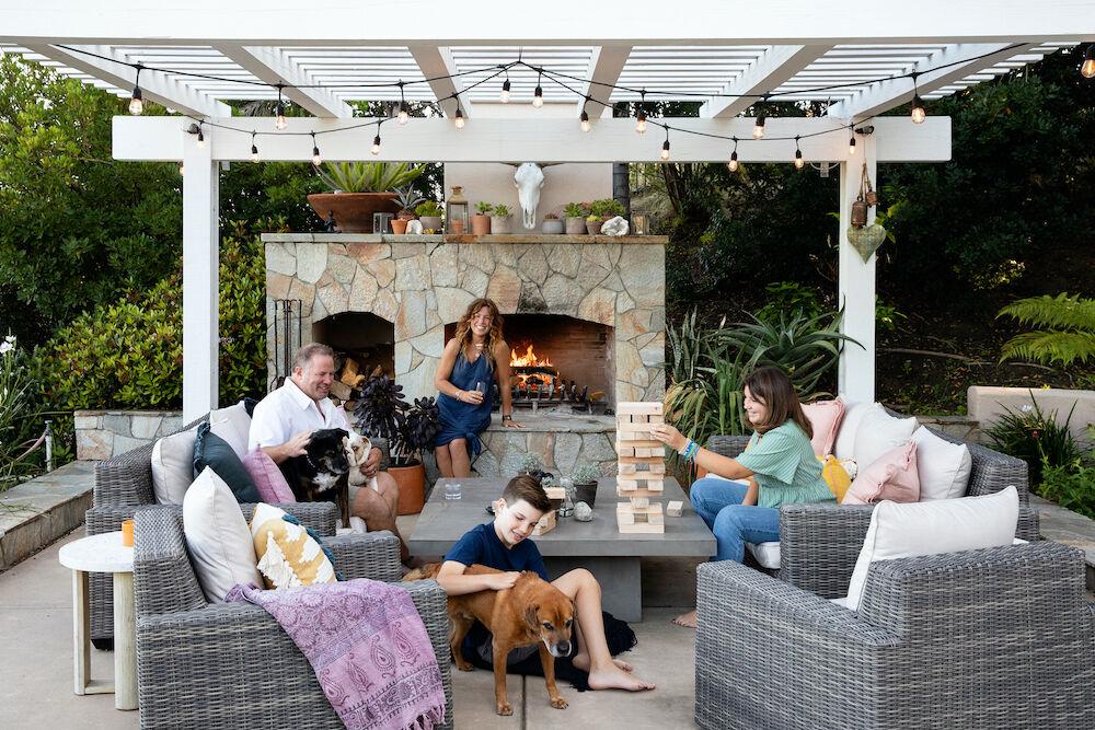 Olivenhain home - family