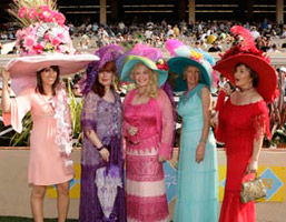 Hats Off to the Del Mar Races