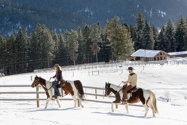 Hit the Big Time at Montana's Triple Creek Ranch