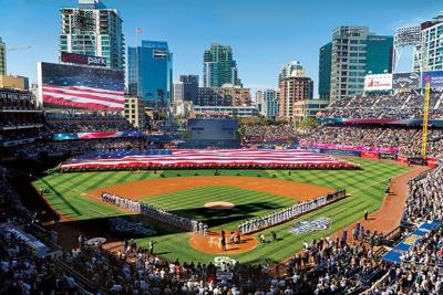 The Padres Take on the Giants during This Week's Home Opener