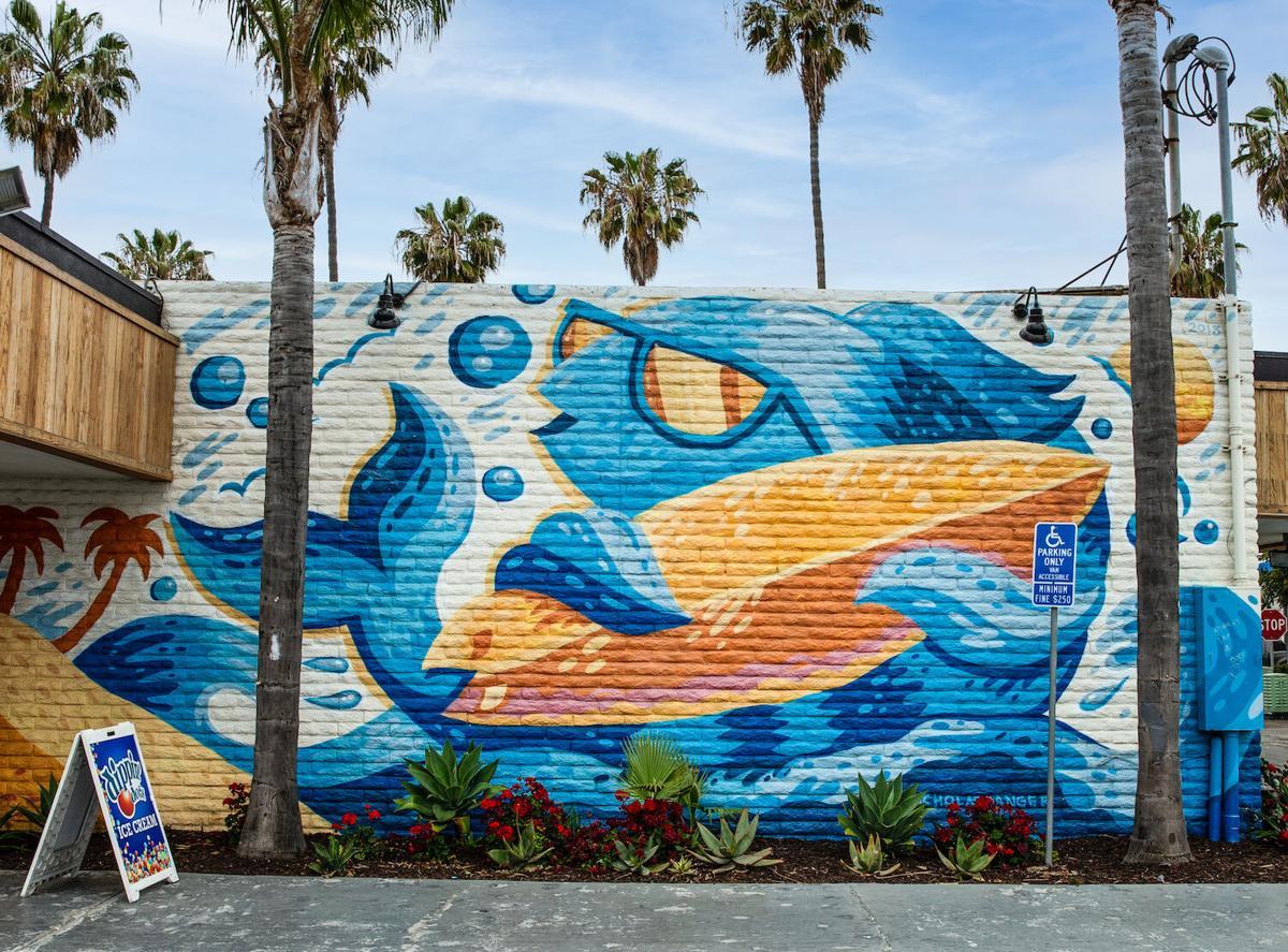 Oceanside - mural