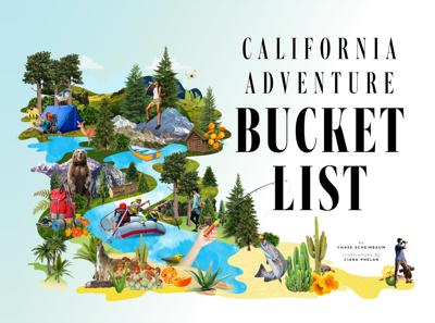 The California Adventure Bucket List