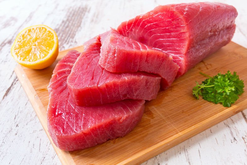 The Problem With Bright Red Tuna