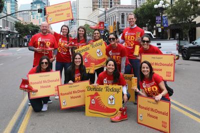 Seeing Red: Ronald McDonald House's Red Shoe Day and Leukemia & Lymphoma Society Raise Big Bucks