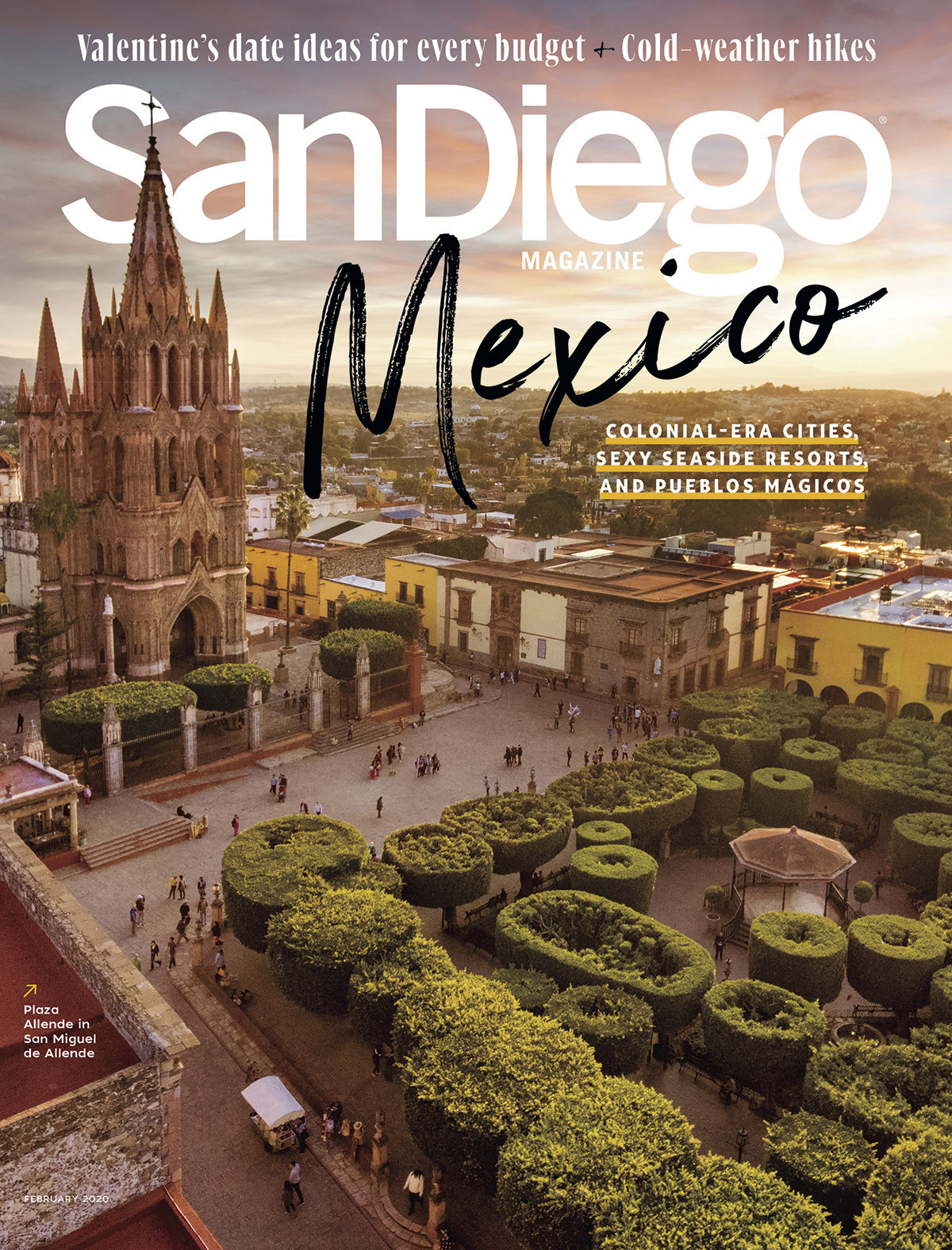 Current issue of San Diego Magazine