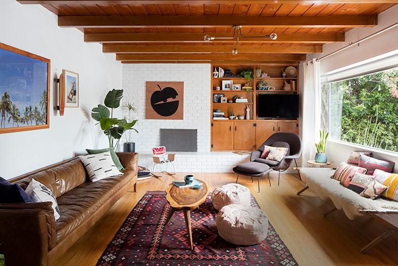 Inside Julia Wheeler's Boho Abode
