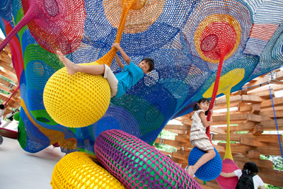 The New Children's Museum Commissions Interactive Art with NEA Grant