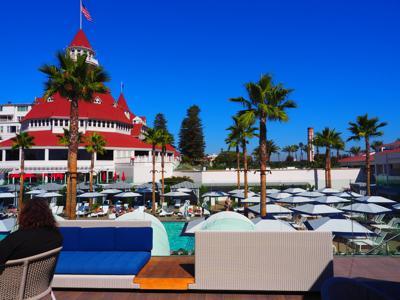 Hotel Del Coronado - Sun Deck