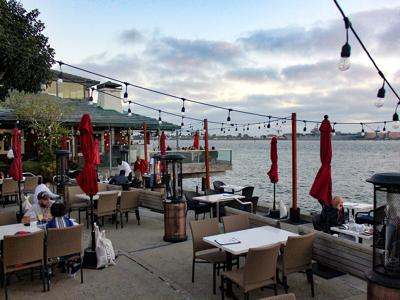 Outdoor Dining / The Fish Market