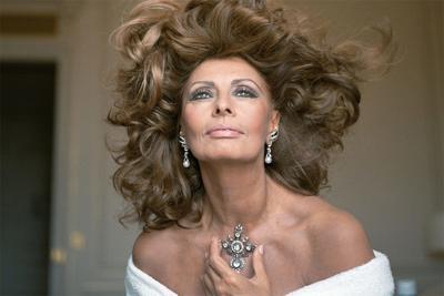 Sophia Loren Comes to Escondido