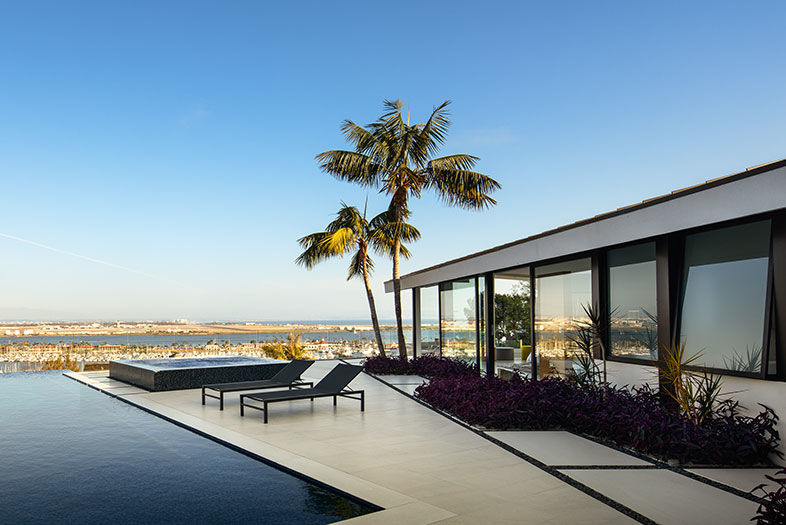 The Glass House on Point Loma
