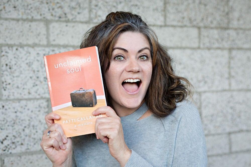 Patti Callahan - with book