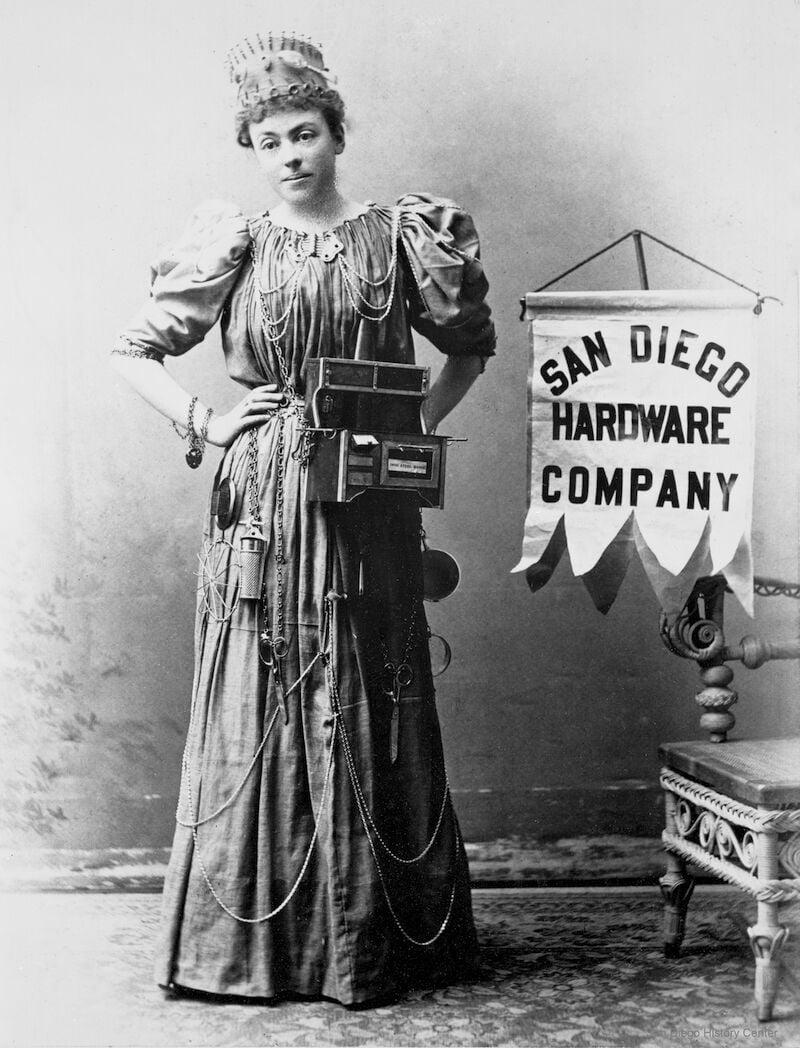 San Diego Hardware lady