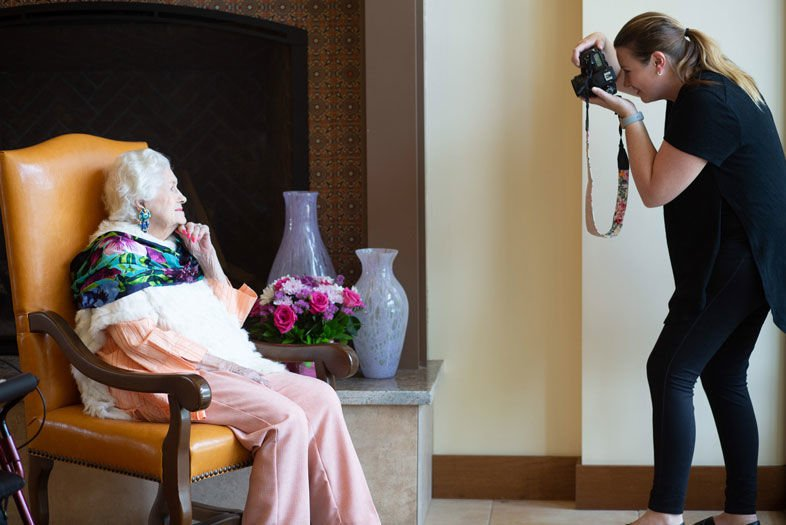 Glam Squad Targets San Diego's Low-Income Seniors