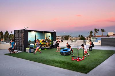 New Rooftop Gym in City Heights