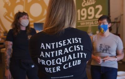 Antisexist craft beer shirt