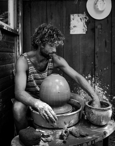 Behind Joe Skoby's Ocean-Inspired Ceramics