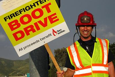 San Diego Fire Fighters Boot Drive
