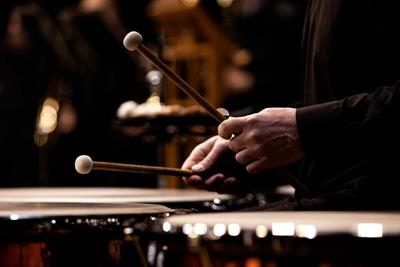 Percussionists to the fore
