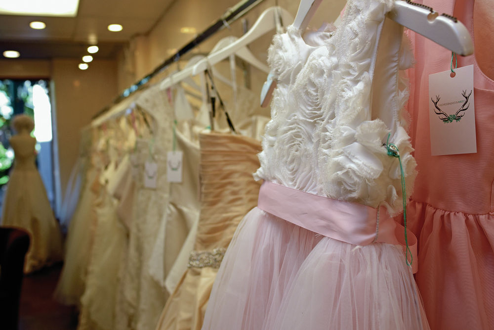 Dressing Room West wedding dress store offers designer names at get ...
