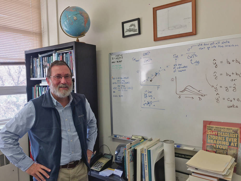UNM meteorologist says Southwest 'on front lines … of climate change'