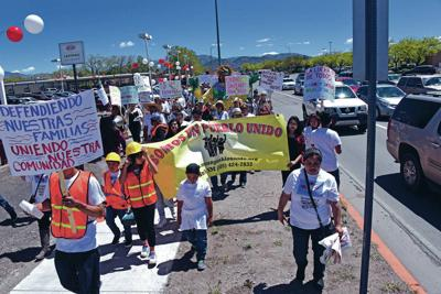 May Day rally unifies immigrant community