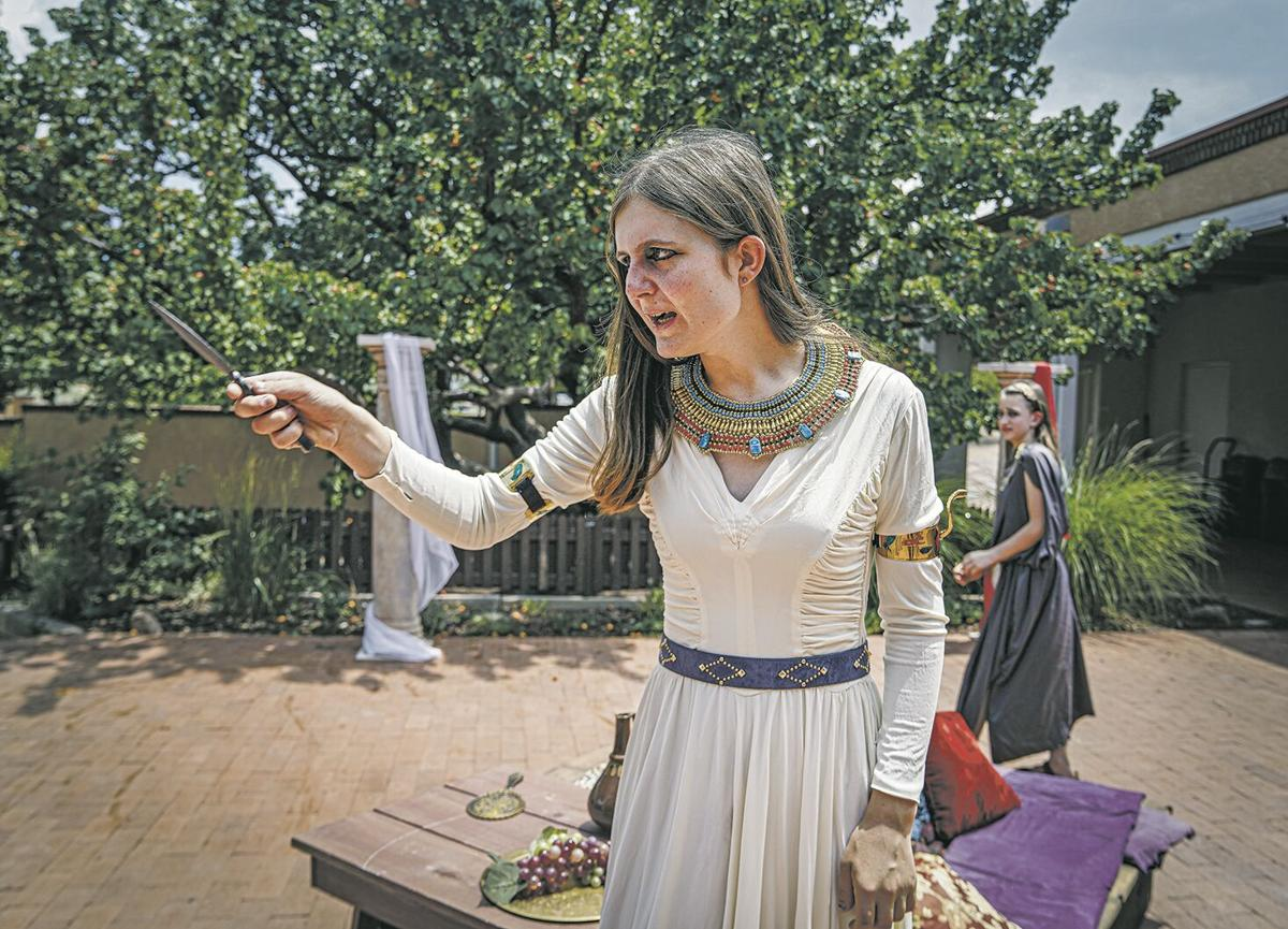 From page to stage: Upstart Crows present Shakespeare's 'Antony and Cleopatra'