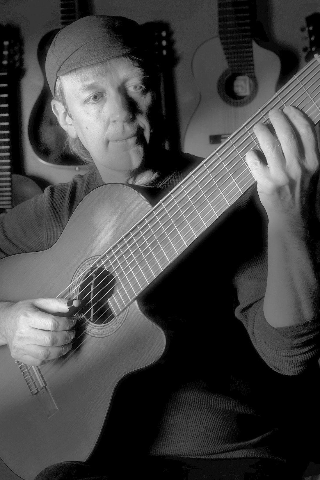 Striking A Chord Musician Bruce Dunlap Art Santafenewmexican