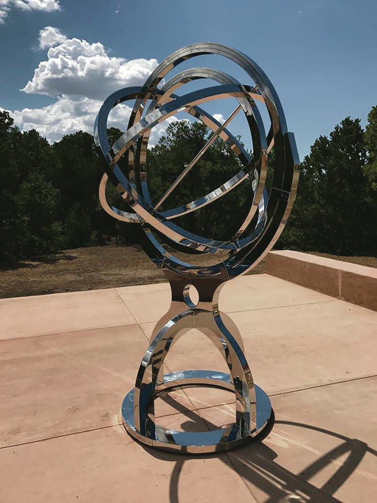 St. John's College to unveil functional armillary sphere