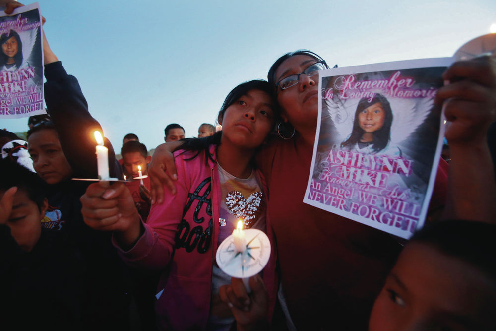 Mother's call for death penalty challenges beliefs on Navajo Nation