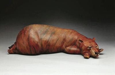 Bronze bear sculpture, worth thousands, stolen from Santa Fe gallery