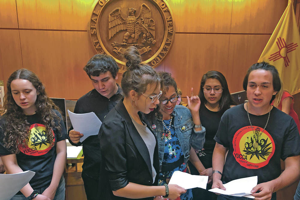 Teenage activist in Santa Fe fights for climate