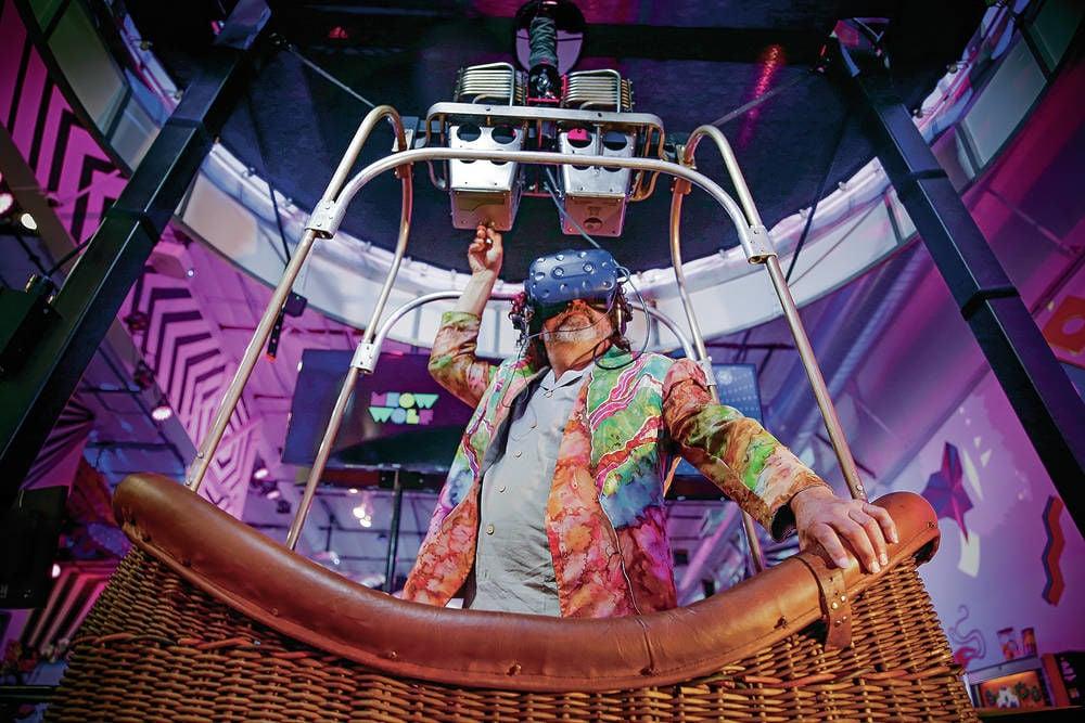 Virtual reality hot air balloon experience lands at Meow Wolf