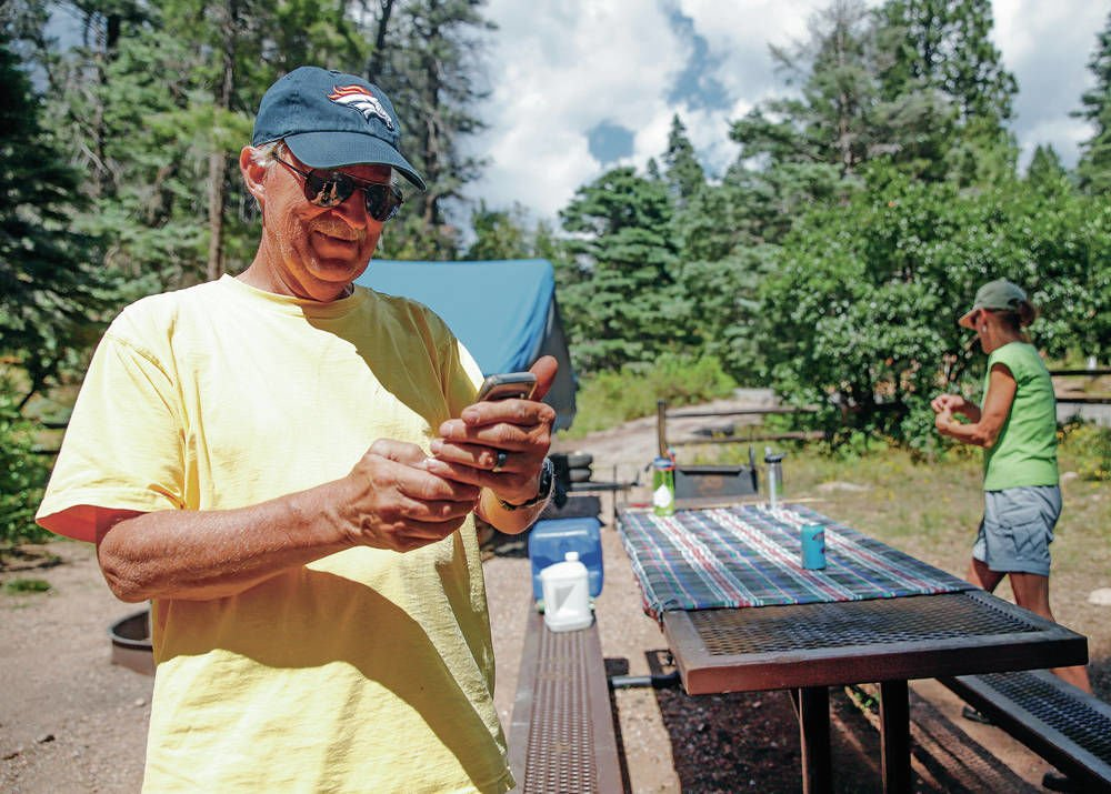 Contractor setting up pay-for-play Wi-Fi hot spots in state parks around New Mexico