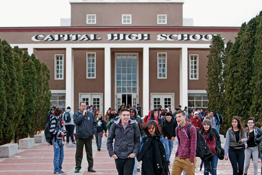 Students walkout over testing