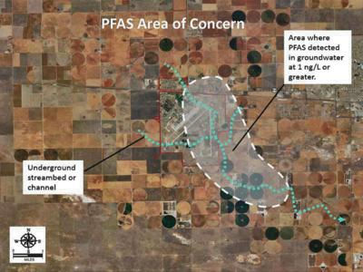 Air Force refuses to clean up plume of 'forever chemicals' beneath Clovis