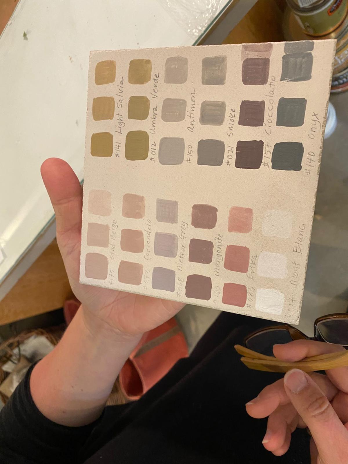 Pamela Platt, clay paints