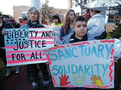 Santa Fe, other sanctuary cities undaunted by Trump order